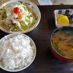 炭仙人 - 2017/4/30 ランチの肉以外