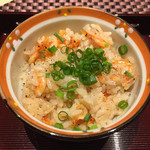 レストラン エム - 静岡 駿河湾の桜えびの炊き込みピラフ