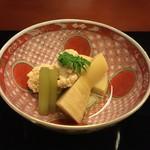 Tsujitome - 焚合:筍、鯛の子、蕗、木の芽