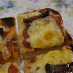 マイルストーン - 厚切りピザトースト4