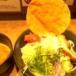 66945008 - 海老つけ麺 カレー
