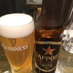 はるかなるカレー - ビール500円