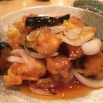 楷菜味 わたなべ - 鳥と鯛の酢豚風