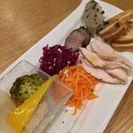 ブリッジ 日本橋 - 前菜盛り