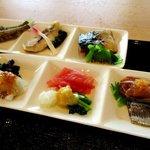 カフェ&レストラン オリゼ - 麹の使い方を変えた6種の魚!