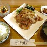 カフェ&レストラン オリゼ - 豚肉味噌麹焼き定食!