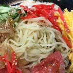 66950239 - 良く〆られた細麺