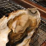 福西本店 炭蔵 - いろり炙り・牡蠣