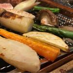 福西本店 炭蔵 - いろり炙り・野菜