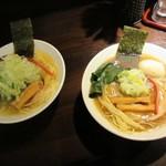 志奈そば 田なか セカンド - + アジ煮干し塩中華