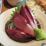 秋葉原魚金 - ブリの刺身