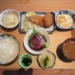 秋葉原魚金 - D定食