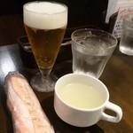 牛舎 - ランチ生ビール380円