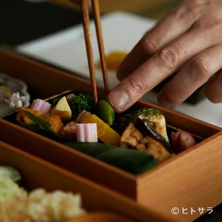 古き良き日本料理に、独自のアレンジをちりばめた進化する京料理