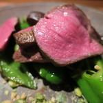 セキ ハナレ - 料理写真:鹿児島 黒毛和牛イチボステーキ