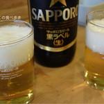 大衆割烹 三州屋 - 瓶ビール大瓶 610円