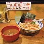 つけ麺や 武双 - 鶏魚介特製つけ麺