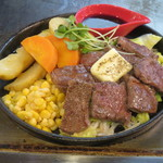 広島焼き どんき - やわらかみすじステーキ