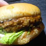 のとや - ハンバーガー  150円
