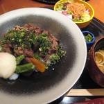 中村孝明YOKOHAMA - 黒毛和牛焼き牛丼