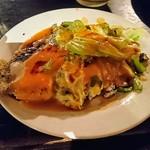 微風台南 - 蚵仔煎(オアチェン)台湾の牡蠣オムレツ