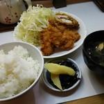 季節料理 西田 - 梅しそササミカツ 700円