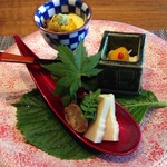 柿安銀座別邸 - 前菜