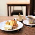 バンチオブピオニース - 生姜スコーンとコーヒー