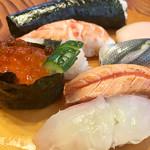 新富鮨 - お腹も 満足
