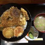 瓢 - 料理写真:天丼