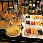 レストラン セイシェル - サラダのトッピング