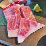 近江牛処ますざき - 近江牛御膳(特上)のお肉