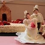 国登録有形文化財 モダン亭太陽軒 - 結婚式ケーキ-手作りのシュガードール