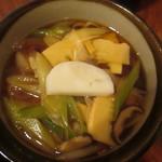 手打ちうどん 平作 - 料理写真:肉南蛮(豚肉)