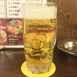 本陣串や - 生ビール