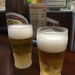 天龍 - 瓶ビール560円