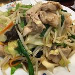 天龍 - 肉野菜炒め620円