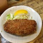 おさむ - カキフライ。重ねた牡蠣で大きかった(嬉) ('17/05/13)