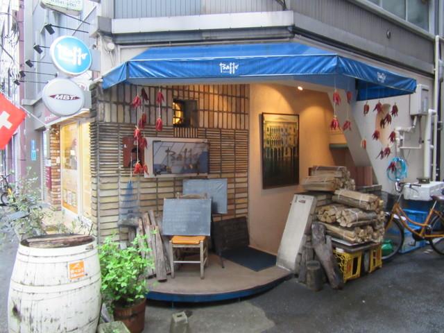 トラットリア・バッフォ - 店頭