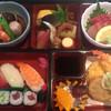 おがわ - 料理写真:お弁当タイプ4000円、あと茶碗蒸しとみそ汁が付きます。