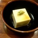 十和田 - そば豆腐:450円