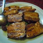 中国料理 正邦 - 豚の角煮。