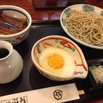 日本橋 本陣房 - 〈2017年5月〉もり蕎麦とまかない丼ランチ 1,000円