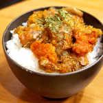 麺場 Voyage - トマトベースの味付けは、塩ラーメンと相性ぴったり! この相性には感心させられた