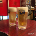 将軍 - ドリンク写真:生ビール500円