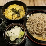 ぢゅるり - ミニ親子丼セット 2017.5