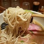中華蕎麦 蘭鋳 - 麺リフト 2017.5