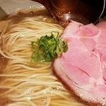中華蕎麦 蘭鋳 - 大盛中華そば 2017.5