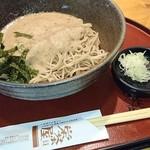 栄茶屋 - 自然薯そば(冷)