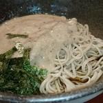 栄茶屋 - 少し茶色みのある自然薯